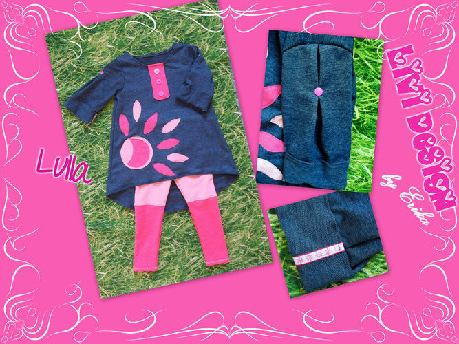 Makerist - Lulla Tunika / Kleid Set mit Legging - Nähprojekte - 1