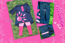 Makerist - Lulla Tunika / Kleid Set mit Legging - 1