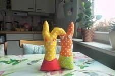 Makerist - genähtes Kuschel-Tier aus Baumwollstoff - 1