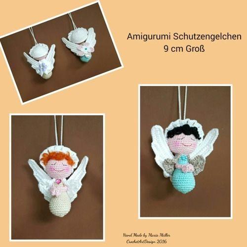 Makerist - Amigurumi Schutzengelchen - Häkelprojekte - 1