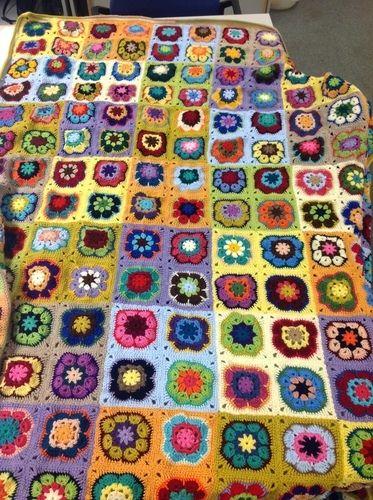 Makerist - Noch eine Decke - Häkelprojekte - 1