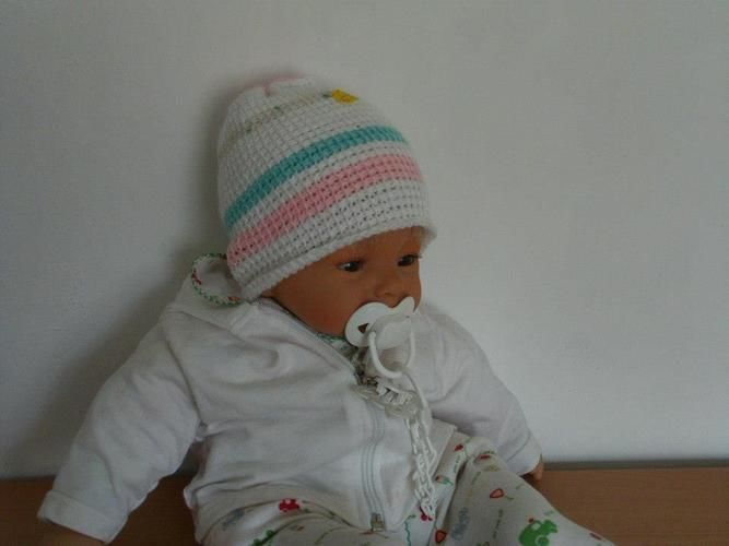Makerist - Baby-Mütze, tunesisch gehäkelt - Häkelprojekte - 1