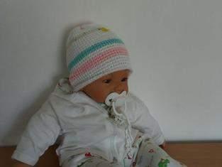Makerist - Baby-Mütze, tunesisch gehäkelt - 1