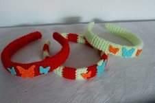 Makerist - Haar-Reifen für Kinder umhäkelt - 1