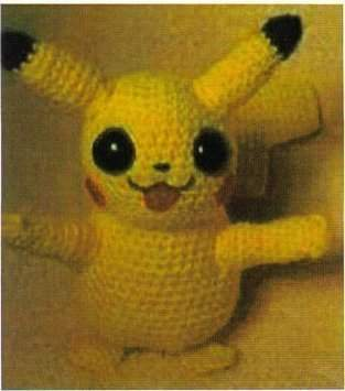 "Amigurumi "" Pikachu"""