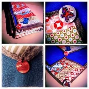 Makerist - Patchworkdecken mit liebevoll ausgesuchten Accessoires  - 1