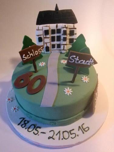 Makerist - Geburtstagstorte - die Torte stellt gleichzeitig das Geschenk dar - Torten, Cake Pops und Cupcakes - 1
