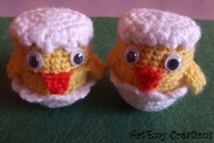 Makerist - Relooker les oeufs surprises - Créations de crochet - 1