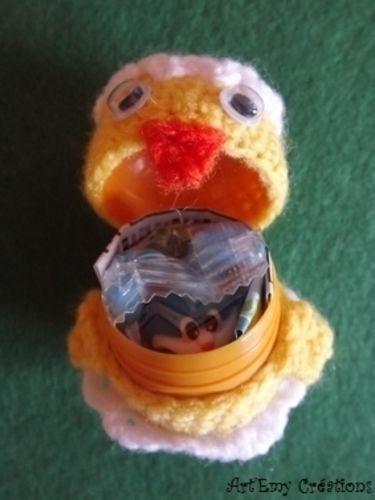 Makerist - Relooker les oeufs surprises - Créations de crochet - 3