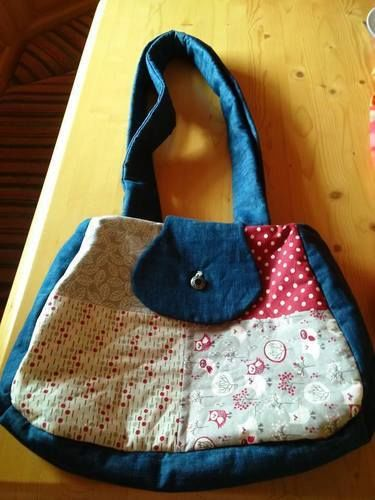 Makerist - meine 1. genähte Tasche. Sie ist für mich selbst gemacht und ich liebe sie. - Nähprojekte - 1