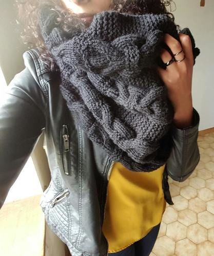 Makerist - Enorme snood - Créations de tricot - 2