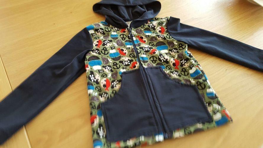 Makerist - Eine Jacke für meinen Enkelsohn in Grösse 122 - Nähprojekte - 1