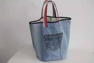 Makerist - XL Jeanstasche - 1