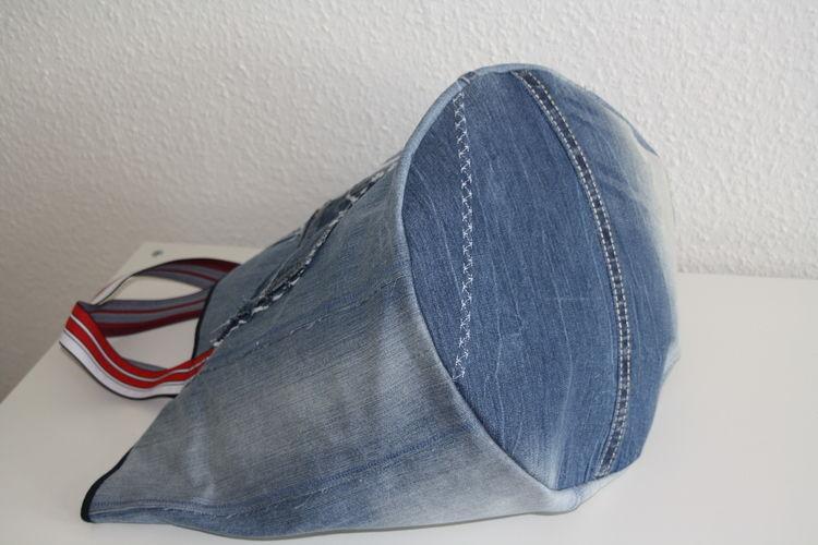 Makerist - XL Jeanstasche - Nähprojekte - 2