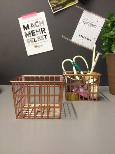 Makerist - Drahtkorb // Upcycling - DIY-Projekte - 1