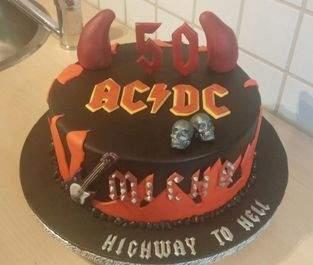ACDC Torte