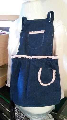 Makerist - Jeans-Latzrock aus Resten - Nähprojekte - 1