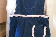 Makerist - Jeans-Latzrock aus Resten - 1