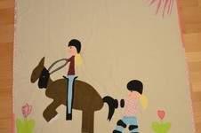 Makerist - Aus Kinderzeichnung wird Kinderdecke  - 1