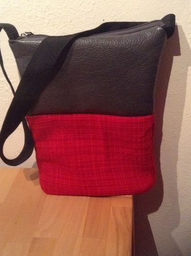 Makerist - Tasche aus Materialmix - Nähprojekte - 1