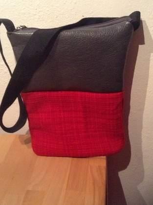 Makerist - Tasche aus Materialmix - 1