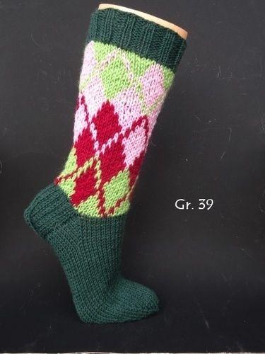 Makerist - Socken im schottischen Karolook - Strickprojekte - 1