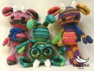 Makerist - Chilimini Monster - 1