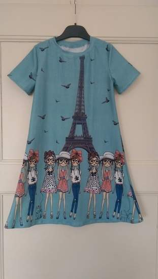 Girlykleid aus jersey