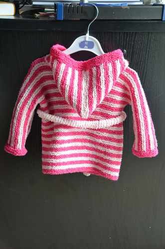 Makerist - Baby-Bademantel für mein Enkelkind - Strickprojekte - 2