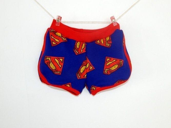 Makerist - Superman Shorty Legs - Nähprojekte - 1