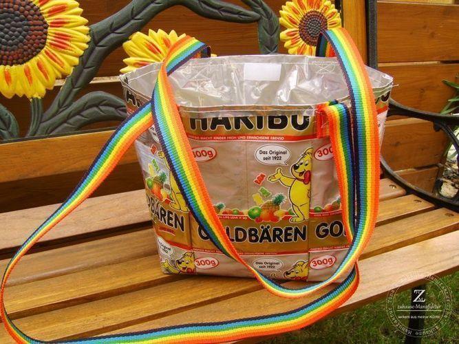 """Makerist - Recycling- Taschen """"Gummibär"""" - Nähprojekte - 3"""