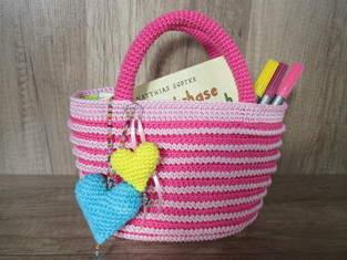 Zuckersüßer Mini-Shopper für kleine Mädels