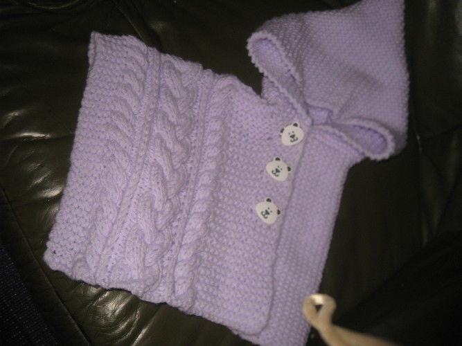 Makerist - poncho bébé 6 mois - Créations de crochet - 1