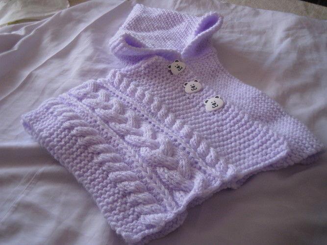 Makerist - poncho bébé 6 mois - Créations de crochet - 2
