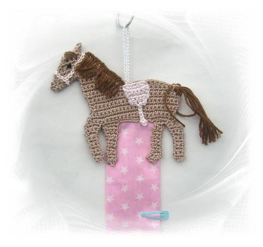 Makerist - Pferde-Haarspangenhalter - Häkelprojekte - 1