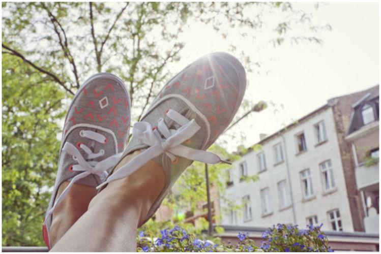 Makerist - DIY Sneakers - DIY-Projekte - 1