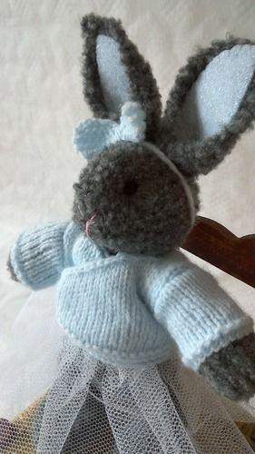 Makerist - Ce rêve bleu : petite lapine danseuse - Créations de tricot - 2