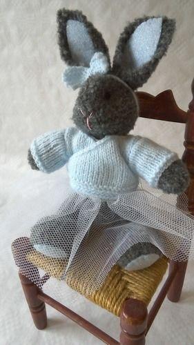 Makerist - Ce rêve bleu : petite lapine danseuse - Créations de tricot - 3