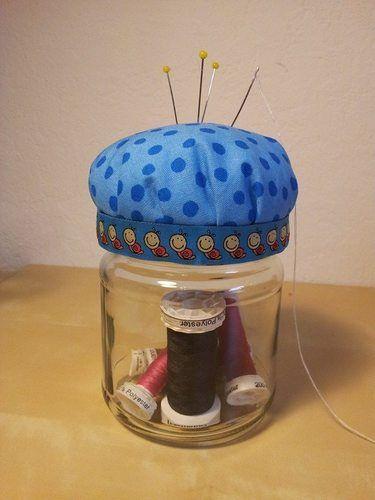 Makerist - Nadelkissenglas - DIY-Projekte - 1