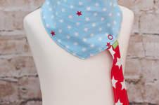 Makerist - Halstuch mit abnehmbarem Schnullerclip - 1