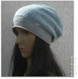 Makerist - leichte Sommer Mütze mit außergewöhnlichem Bund - 1