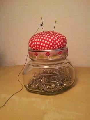Makerist - Nadelkissenglas - 1