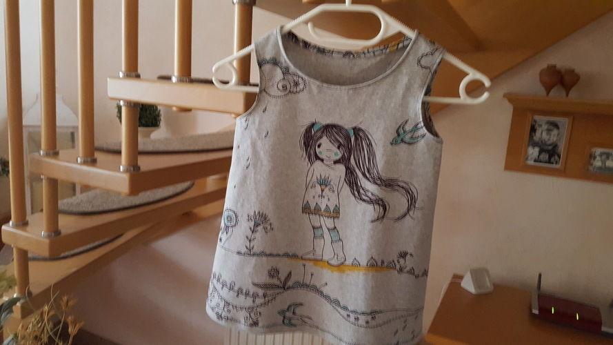 Makerist - Ein Shirt für meine Enkeltochter - Nähprojekte - 1