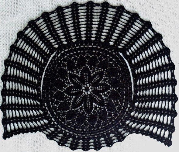 Makerist - kreisBOLERO black lace - Strickprojekte - 3