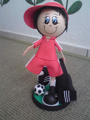 Makerist - Moosgummi Puppen - 1