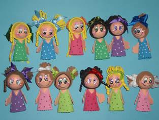 Makerist - Moosgummi Bleistift Puppen  - 1