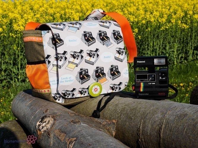 "Makerist - Fototasche ""Jonny"" für meine Polaroid-Kameras - Nähprojekte - 1"