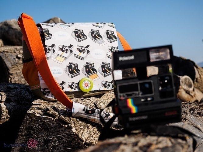 "Makerist - Fototasche ""Jonny"" für meine Polaroid-Kameras - Nähprojekte - 2"