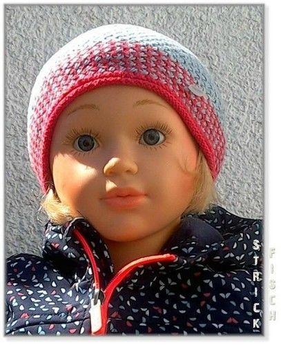Makerist - Kinder Flechtmuster Mütze zweifarbig - Strickprojekte - 2