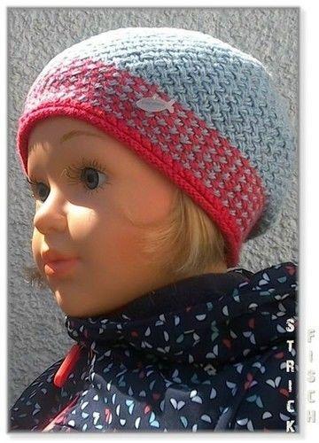Makerist - Kinder Flechtmuster Mütze zweifarbig - Strickprojekte - 3